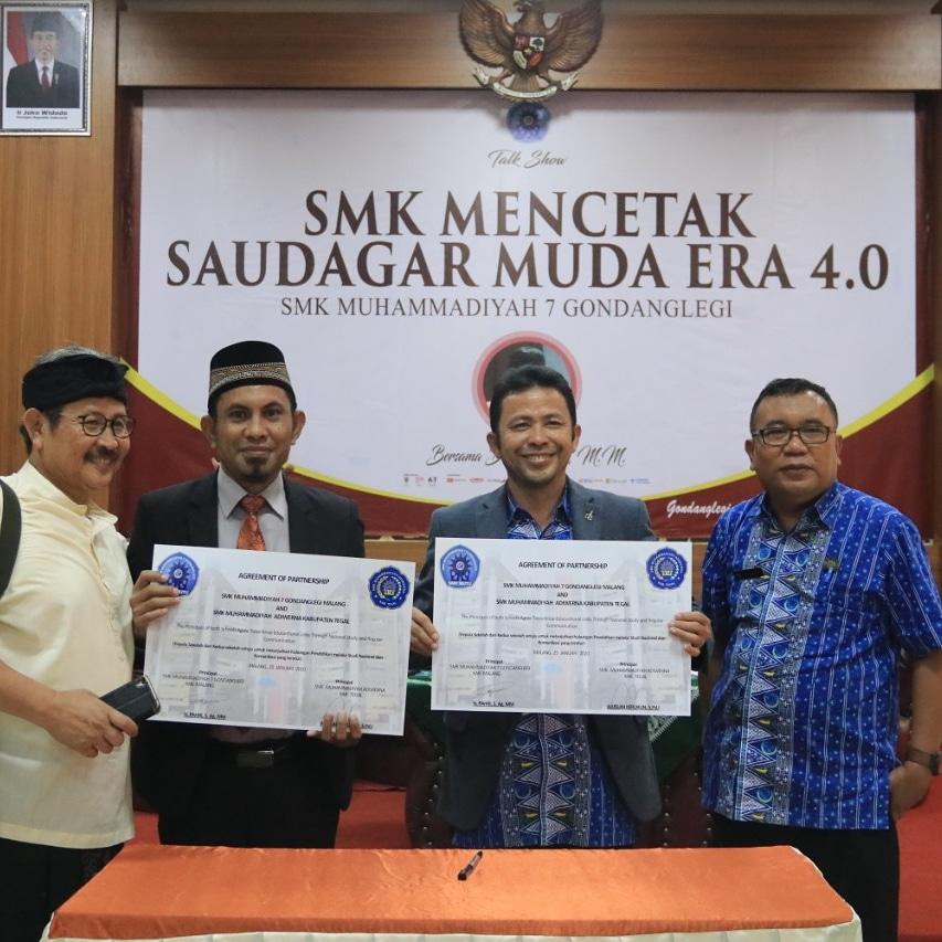 SMK Muhammadiyah Adiwerna Cetak Saudagar Muda