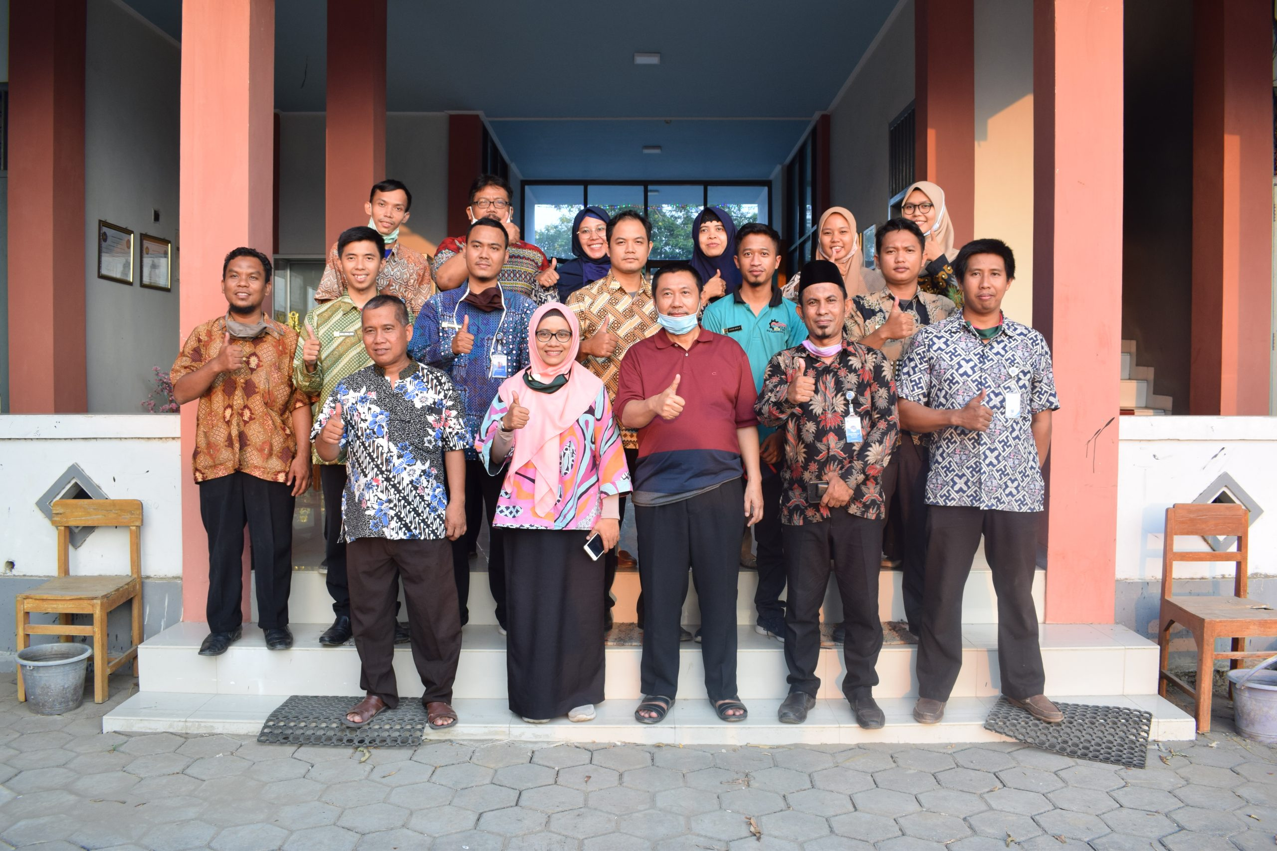 Kunjungan Direktur Pembina SMK Ke SMK Muhammadiyah Adiwerna
