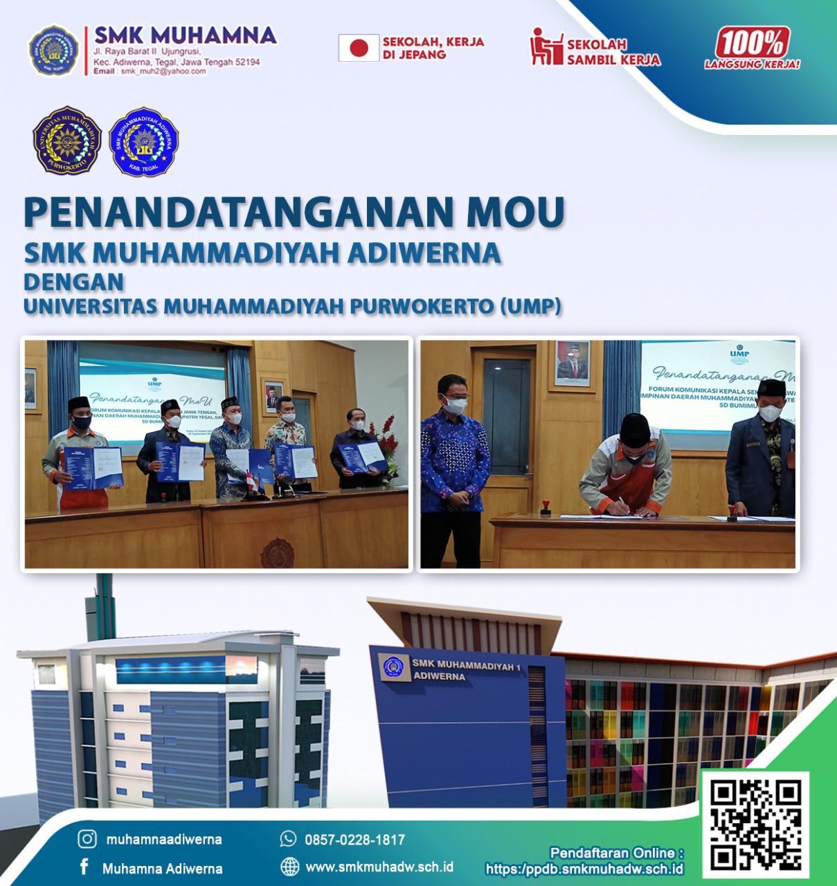 MOU SMK Muhamna dengan Universitas Muhammadiyah Purwokerto (UMP)