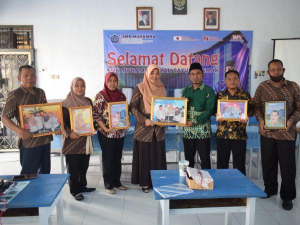 Kunjungan SMK Muhammadiyah Sayung Demak Ke SMK Muhamna